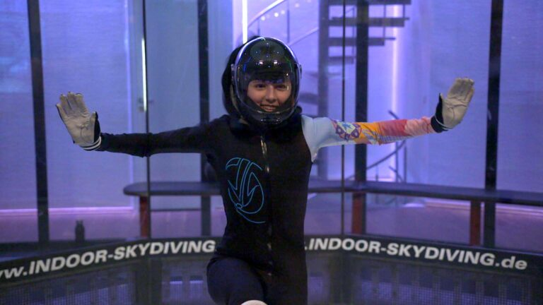 Cynthia-3-Indoor Skydive